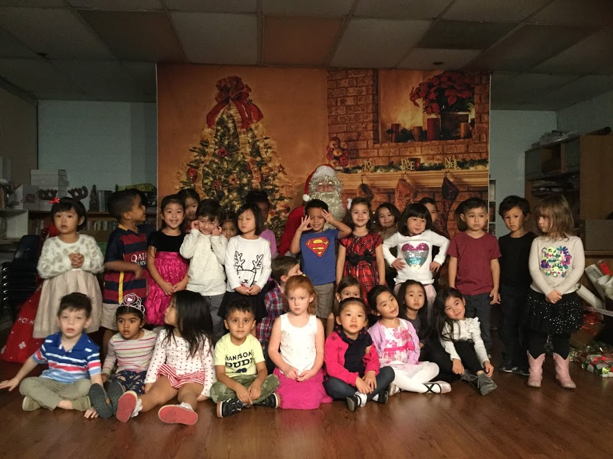 Room 4: Santa Visit/Gift Exchange (Dec 2017)