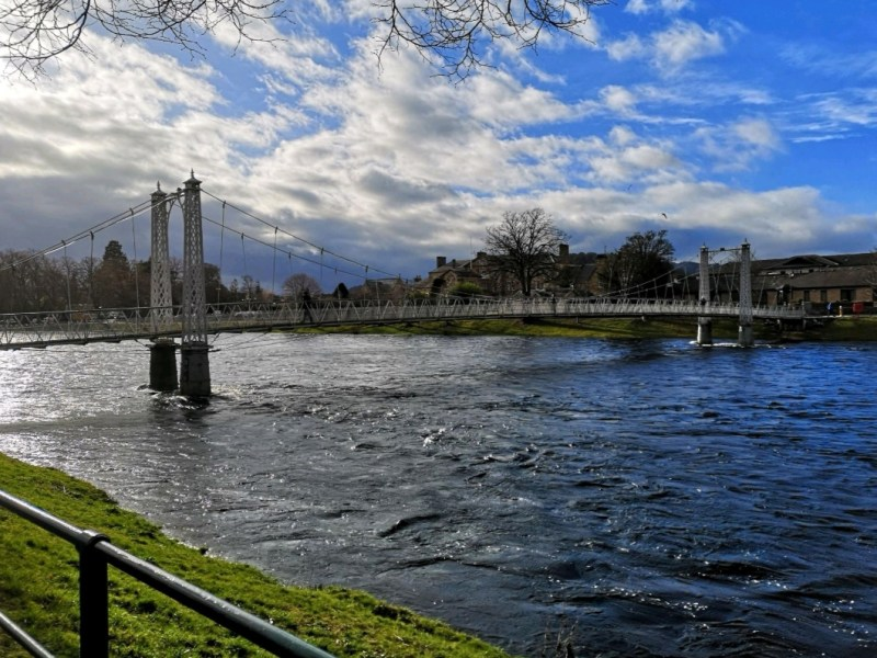 Bridge in Inverness (by From One Owner to Another)