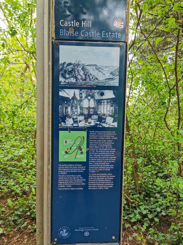 Information about the Blaise Castle Estate