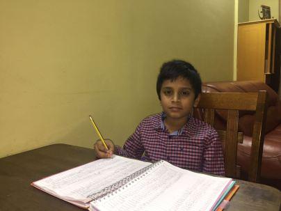 Rahul Ranjith ( 9yrs)