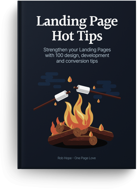 Landing Page Hot Tips With Rob Hope