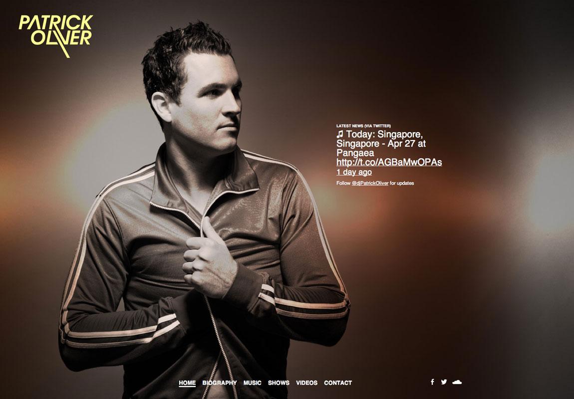 DJ Patrick Oliver