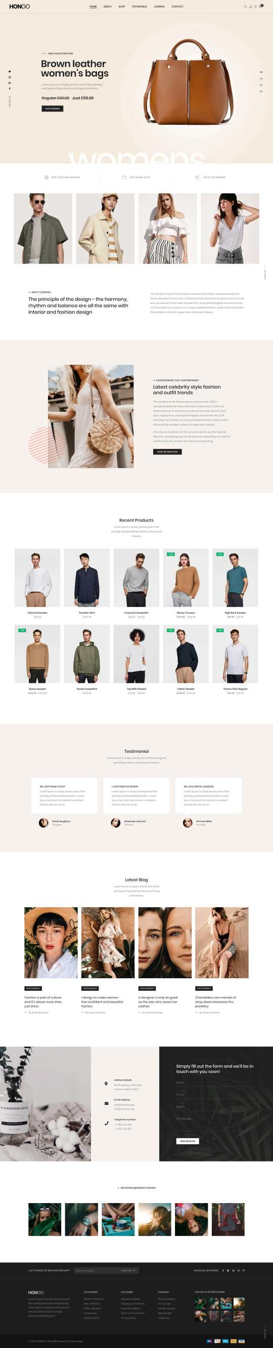 """Download all 97 """"ecommerce"""" landing page templates unlimited times with a single envato elements subscription. E Commerce One Page Templates"""