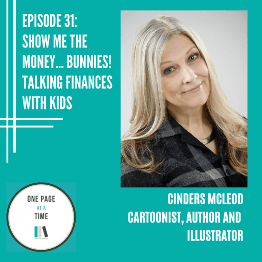 Episode 31: Show me the money bunnies talking finances with kids with Cinders Mcleod
