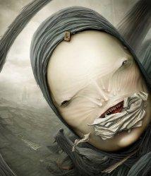 Creepy Surreal Artist Sure Part Happiness