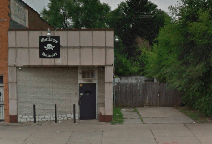 Outlaws MC clubhouse Detroit Michigan - One Percenter Bikers