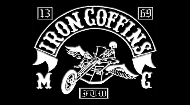 Iron Coffins MC patch logo-1000x500