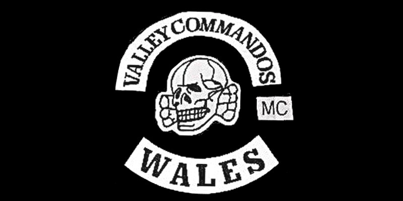 Valley Commandos MC patch logo
