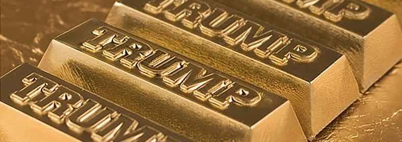trump gold bars