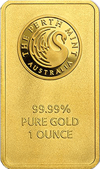 1 oz Perth Mint Gold Bars gold ira company