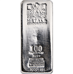Republic Metals Corporation Silver Bars gold ira company