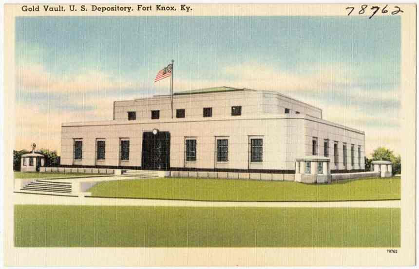 fort knox gold depository copy