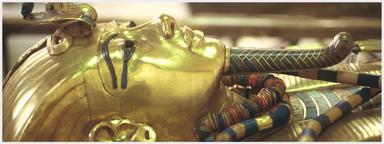 history of gold king tut mask