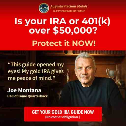 augusta joe montana gold IRA guide $50k offer A V2