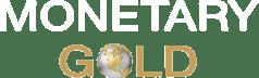 New Monetary Gold Logo White