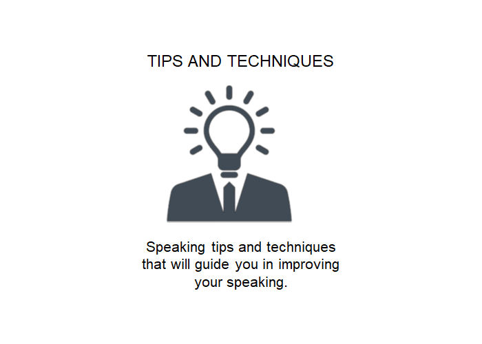 Tips And Techniques