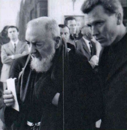 Fr. Dollinger accompanying St. Pio