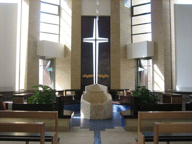 Chiesa di Santa Maria Madre dell'Ospitalità (Interior)