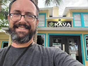 Oliver - Specifically, 1900 Municipal Ln, Melbourne, FL 32901, otherwise known as the original Island Root Kava Bar, my home away from home.