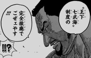 藤虎 王下七武海