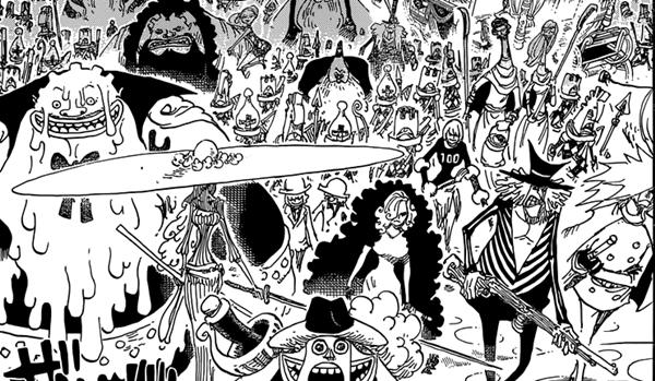 The Enraged Army is headed to kill Luffy
