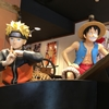 LUFFY,NARUTO,GOKU at JUMP SHOP Universal City Walk Osaka
