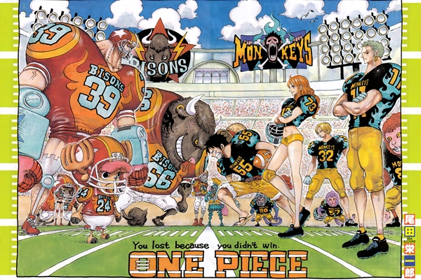 "Manga one piece 858 ""Meeting"" whole cake island"