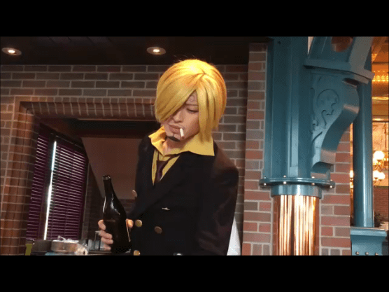 SANJI'S PIRATES RESTAURANT 2017 in Universal Studio Japan