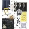 Elsie's moon room mood board