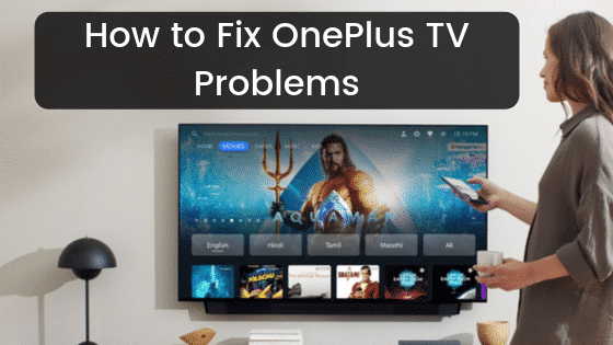 fix oneplus tv