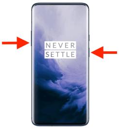 Reset OnePlus 7T Pro