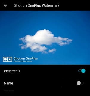 Remove Shot On OnePlus