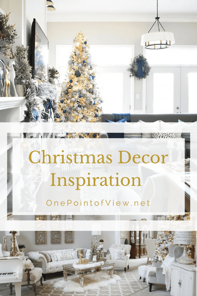 Christmas Decor Inspiration-OnePointofView.net