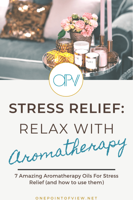 Stress relief: relax with aromatherapy