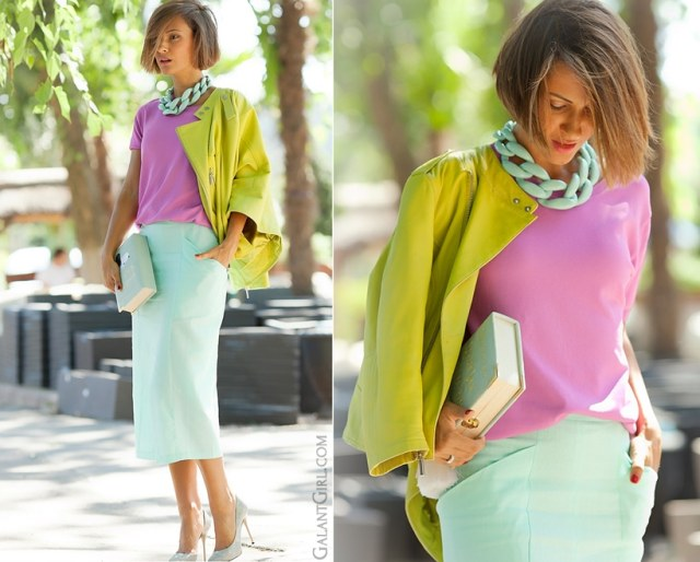 To have and to Hold:Say Hello To Spring Fashion Pieces - Urban Skirt and Lavender Blouse