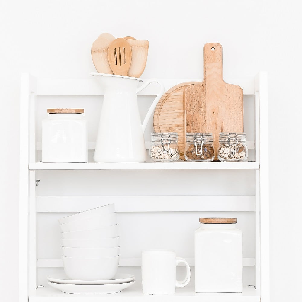 How To Organize Your Kitchen - A System That Works - You don't need to have a big kitchen and a lot of cabinets to be able to store and organize everything within reach. It's mainly about how you use the space you have to make it into a fully functional kitchen. #kitchenorganization #smallkitchen