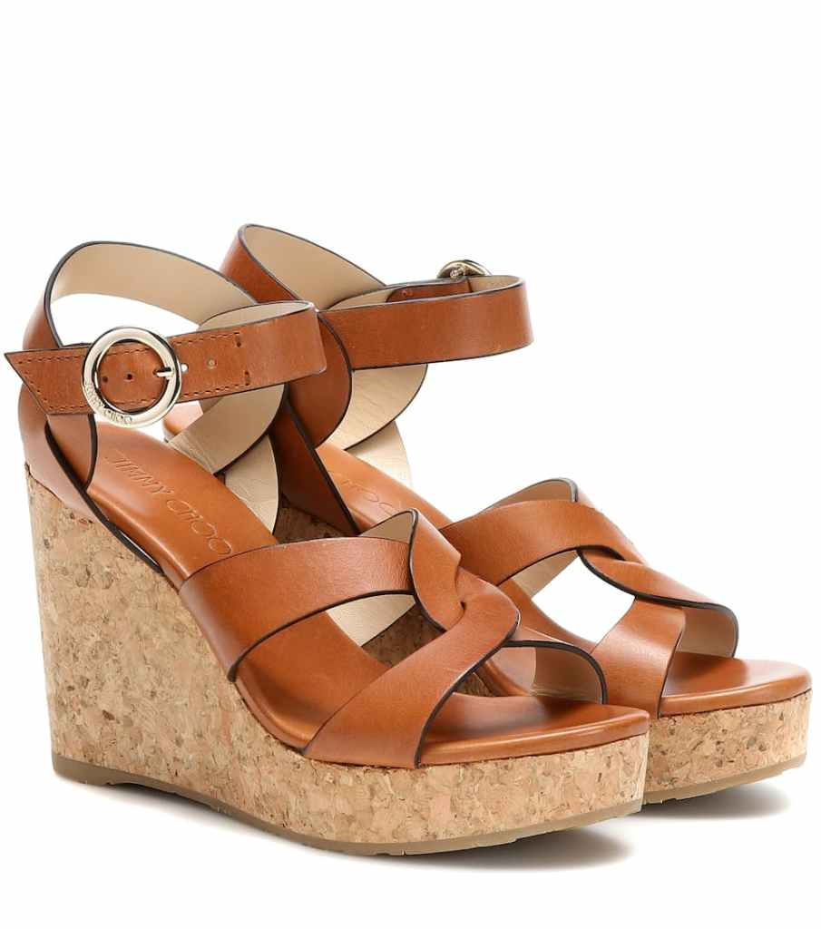 Jimmy Choo Wedge sandal My Theresa summer style inspiration