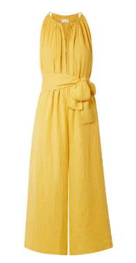 Yellow Jumpsuit net-a-porter