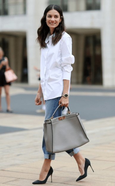Wardrobe Basics for Women-Must Have Clothing Items - Classic White Shirt