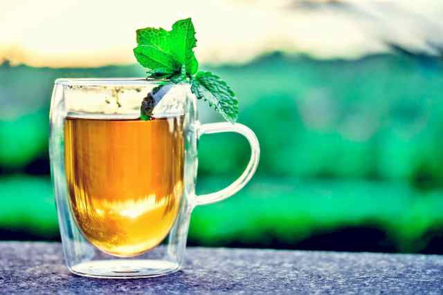 Nettle and Mint tea-OnePointofView.net