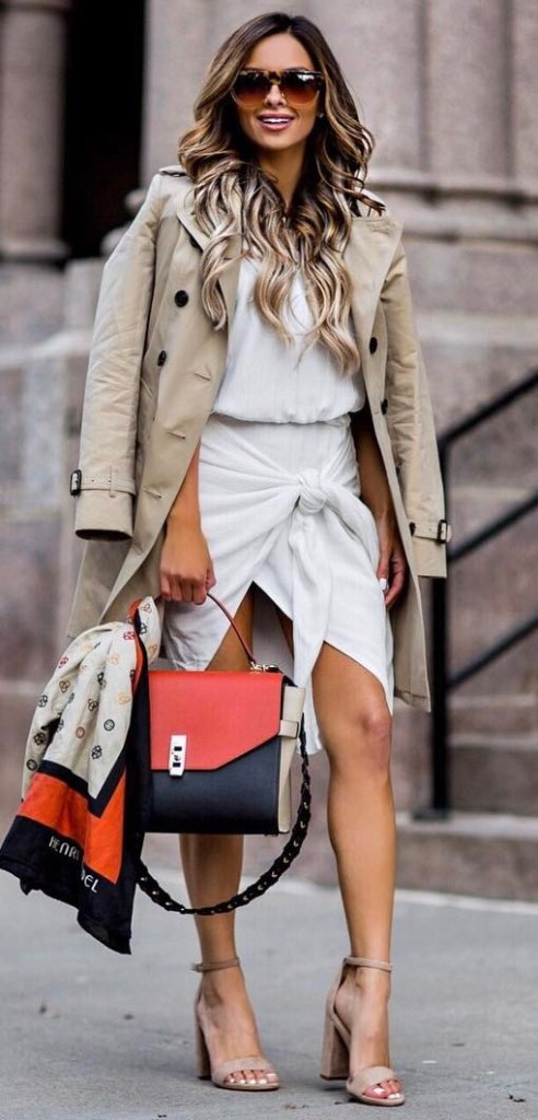 Ready For Fall-White Dress