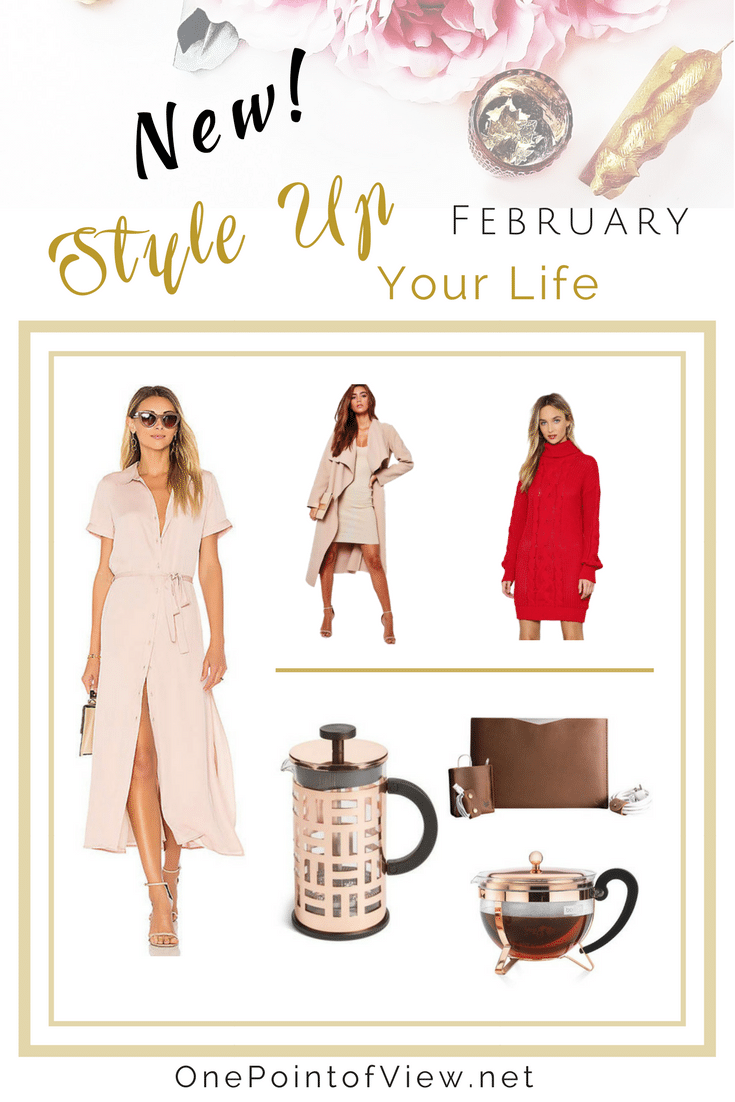 Style Up You Life-February 2018. Stylish - OnePointofView.net