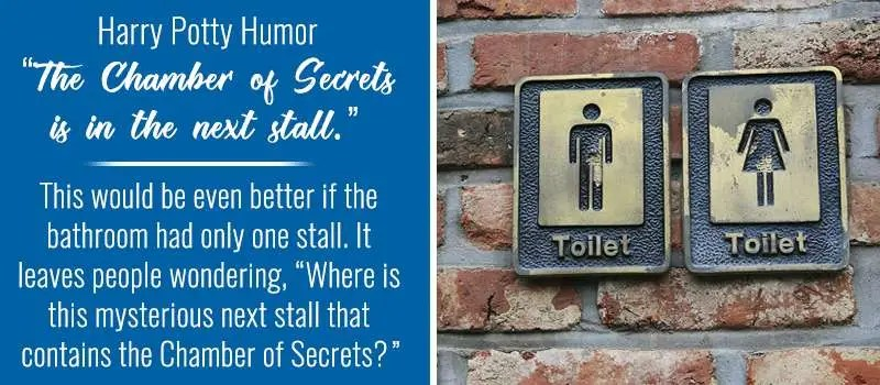 Bathroom Stall Quotes: Harry Potty and the Chamber of Secrets