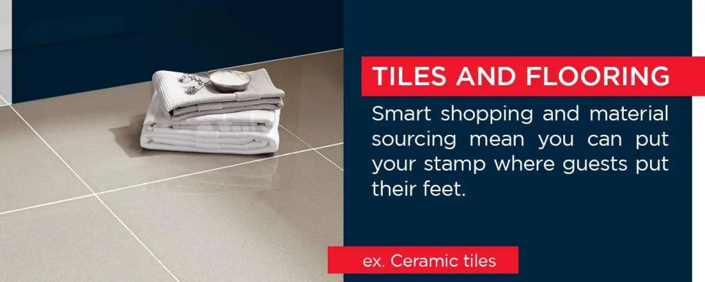 Tiles and flooring - ceramic tiles