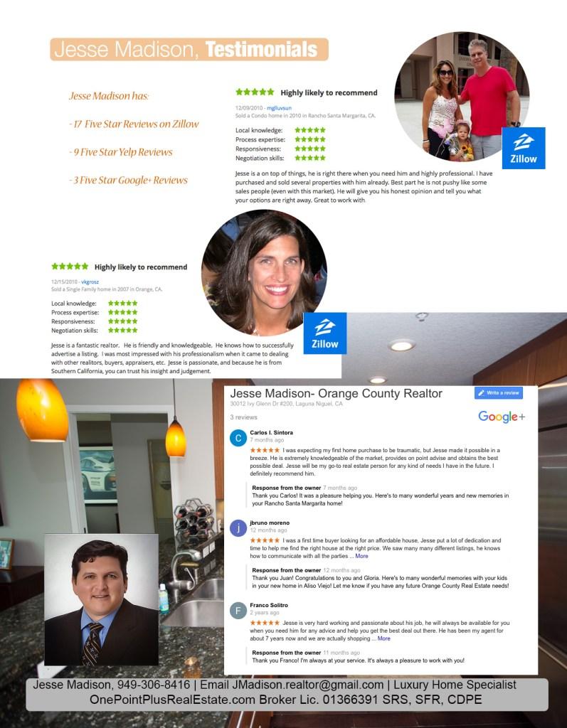 Best Orange County Realtor Reviews