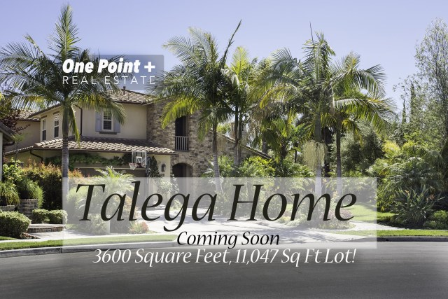 Talega View Home...Coming Soon!