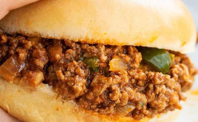 Loose Meat Sandwich Tavern Sandwich One Pot Recipes