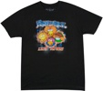 Fraggle Rock Live In 85 Black-T