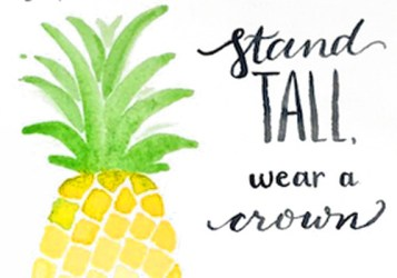 pineapple printable watercolor dramatic nearer cost undertaking