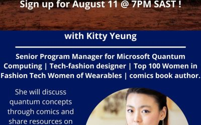 Kitty Yeung at One Quantum Africa Aug 11 at 7PM